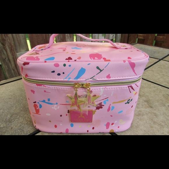 Jeffree Star Handbags - Jeffree Star Pink JawBreaker Makeup Bag